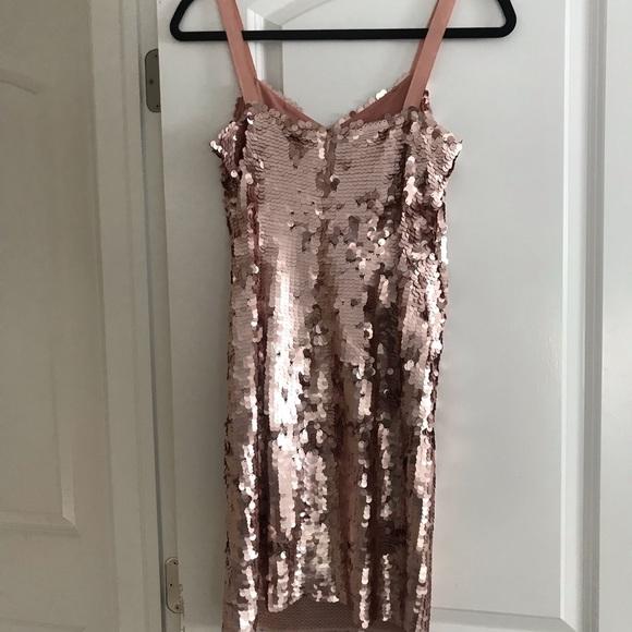 J. Crew Dresses & Skirts - JCrew Rose Gold Cocktail Dress